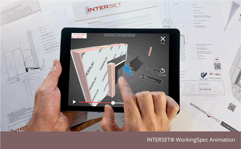 INTERSET® 3D Window Detail, WorkingSpec